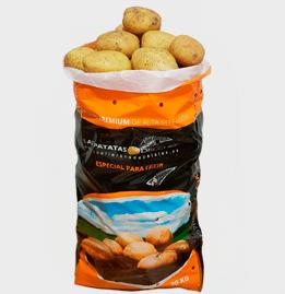 Patata nueva española para freír saco 20 Kg.