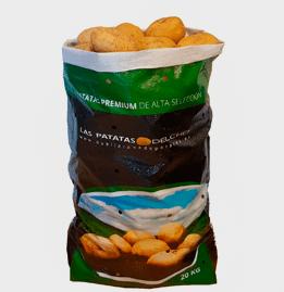 Patata nueva española para todo uso culinario saco 20 Kg.